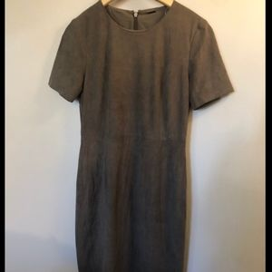 Elie Tahari Gray Dress- Size 4